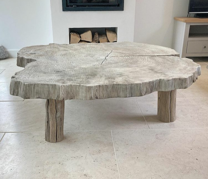 Driftwood style coffee table