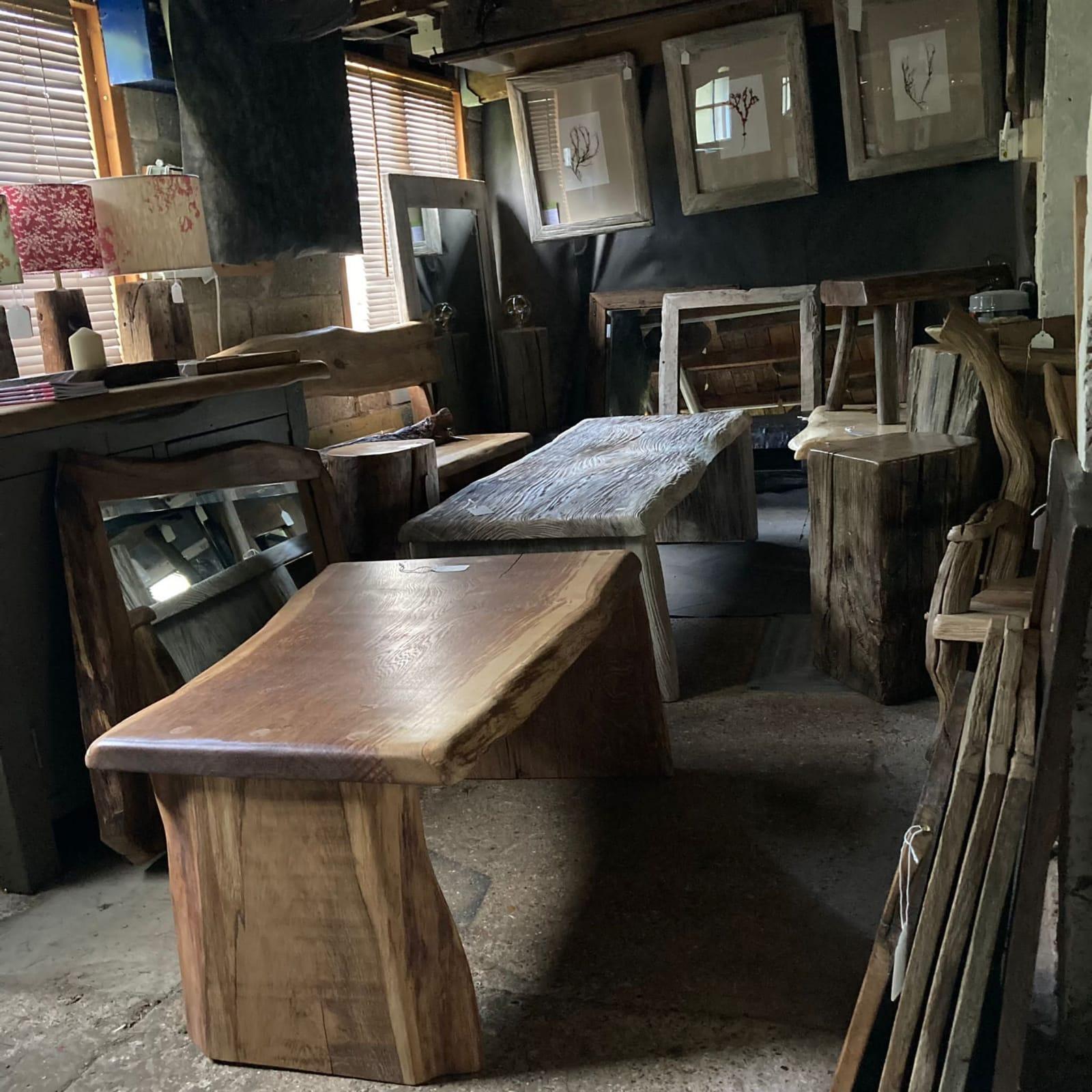 Rustic furniture maker